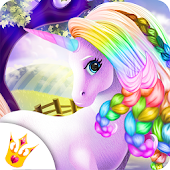 Magic Horse 🦄 Unicorn Caring Beauty Makeover