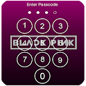 Black Pink Lock Screen icon