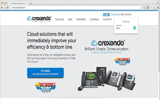 Crexendo Click-2-Call