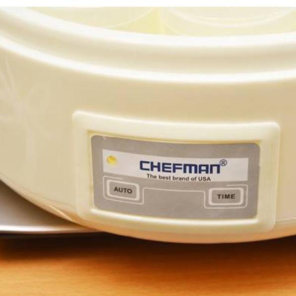 Máy làm sữa chua 16 cốc nhựa Chefman CM- 301