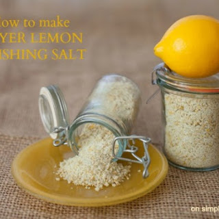 Meyer Lemon Finishing Salt