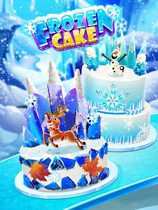 Icy Cake Desserts – Princess Ice Food 2