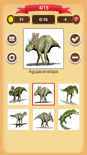 Dinosaurs Quiz apkmind screenshots 6