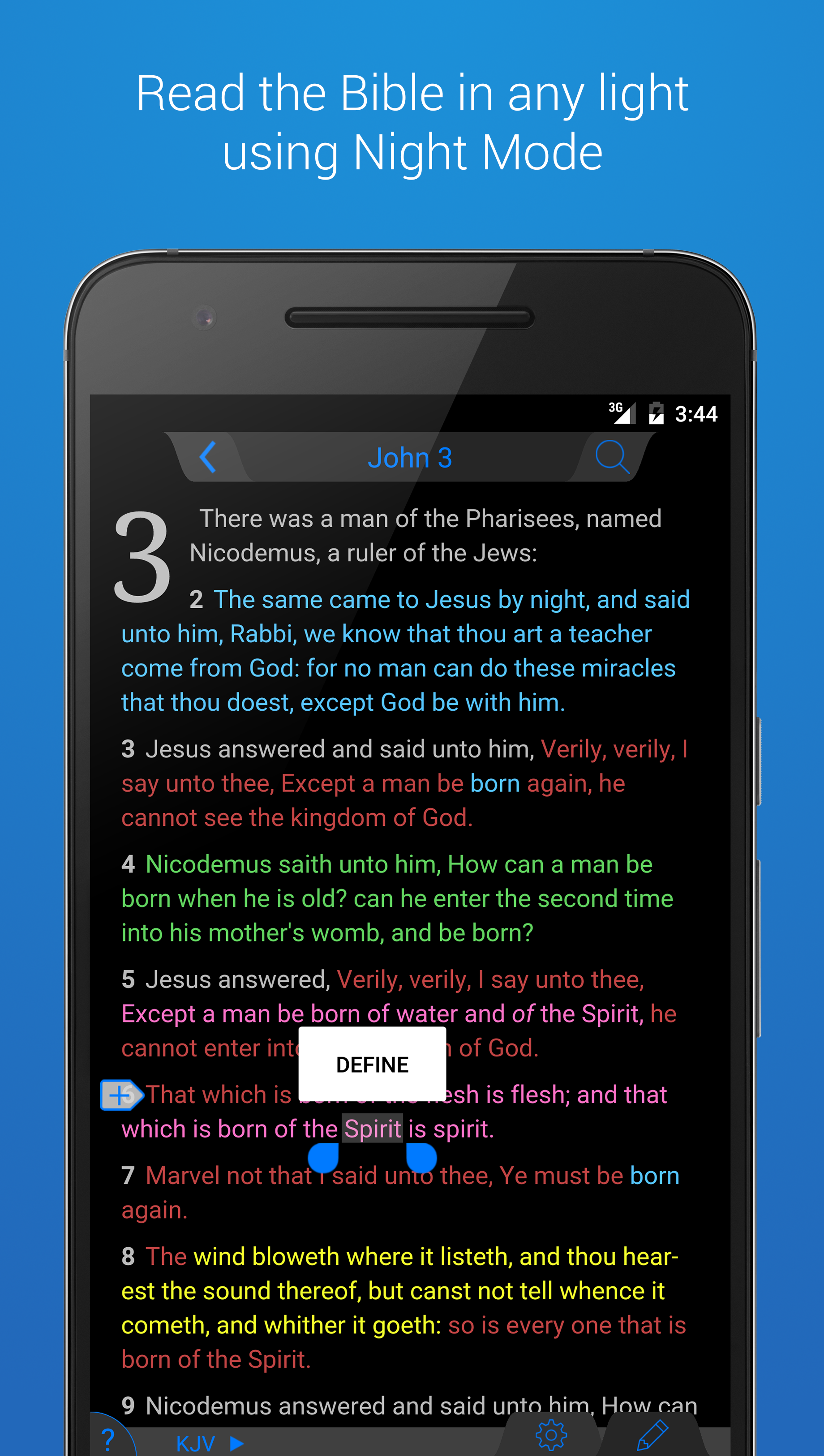 The Holy Bible - King James screenshot #2