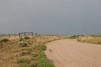 Photo: Gewitter über der Prärie
