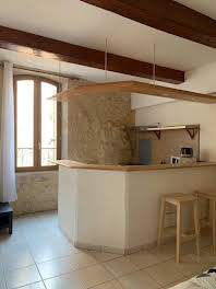 Studio meublé 21,75 m2