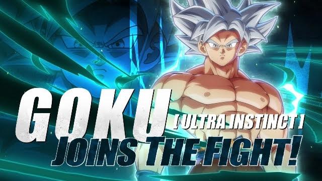 Dragon Ball FighterZ Pass 3 Goku Ultra Instinct