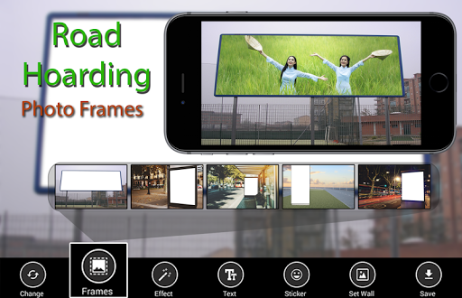 Road Hoarding Photo Frames - sunlight hive editor screenshots 1
