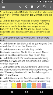 German Bible Screenshot