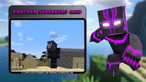Panther Superhero Mod 7.6 screenshots 3