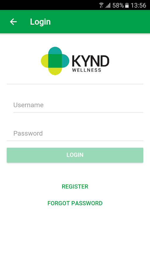 KYND Wellness- screenshot