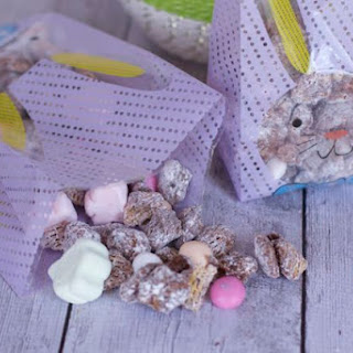 Easter Muddy Buddy Mix or Bunny Bait Snack Mix