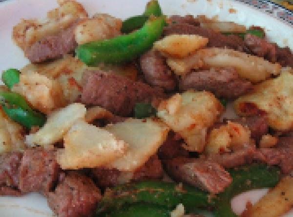 Pepper Steak And Potatoes Recipe