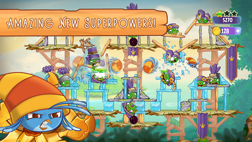 Angry Birds Slingshot Stella screenshot 11