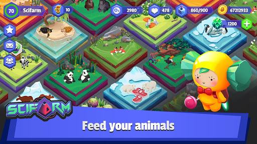 scifarm - space farming and zoo management game screenshot 2