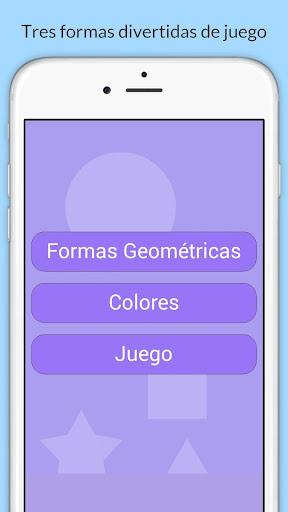 Formas geométricas para niños