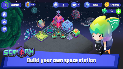 scifarm - space farming and zoo management game screenshot 1