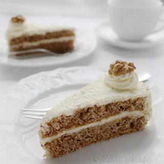 Walnut Cream Cake