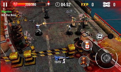 Code Triche Massacre de zombi 3D  APK MOD (Astuce) screenshots 1