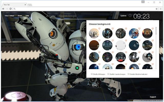 Chrome Web Store Wallpapers Cars Portal Wallpaper Hd New Tab Portal Themes Free Addons
