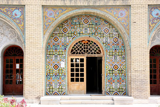 Photo: Day 138 - Doorway of a Building in Golestan Palace Complex, Tehran