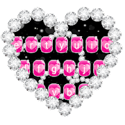 App Pink Diamond Heart Keyboard Theme APK for Windows Phone