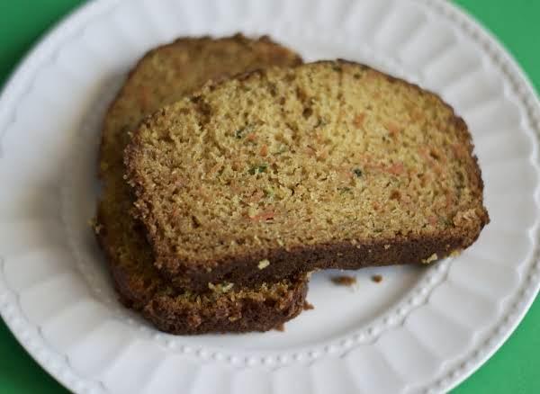 Spiced Carrot And Zucchini Bread Recipe
