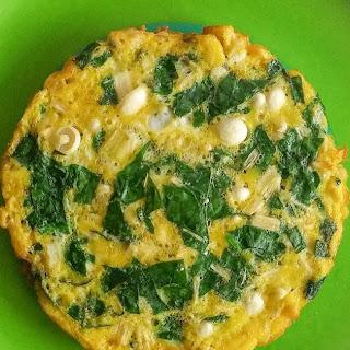 Enoki Mushroom Omelette Recipe