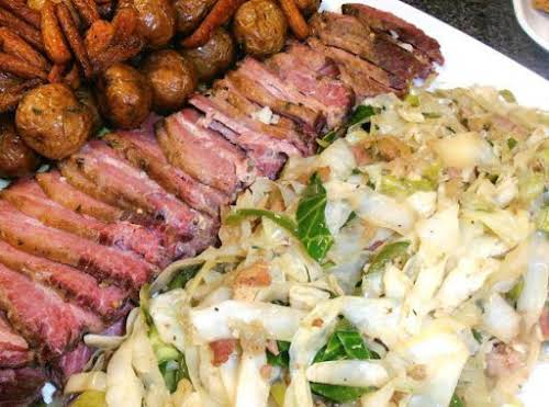 """Logan's Fried Cabbage """"It is my new favorite way to make cabbage...."""