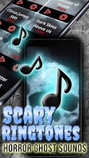Scary Ringtones Horror Ghost Sounds - náhled