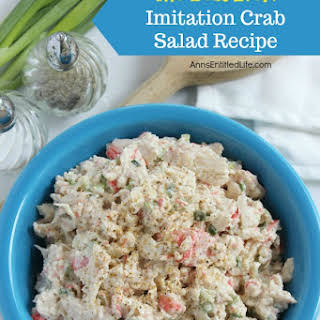 Imitation Crab Salad With Mayonnaise Recipes.