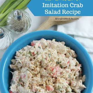 Imitation Crab Salad.