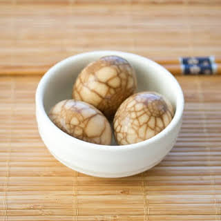 Chinese Tea Eggs.