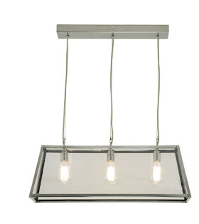 Davey Lighting Diner 75 Taklampa Satin Nickel - lavanille.com