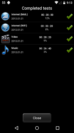 Battery HD screenshot 5