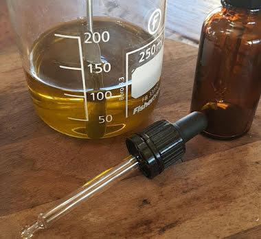 Pipett svart 30 ml
