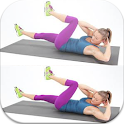 Belly  fat exercises for women icon
