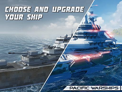Pacific Warships: World of Naval PvP Warfare apktram screenshots 20
