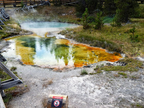 Photo: West Thumb Geyser Basin walk