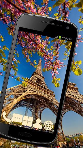 Eiffel Tower Theme GO ADW APEX