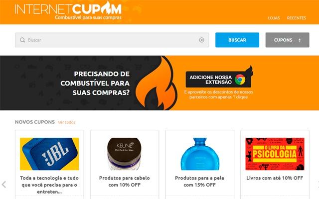 NetCupom - Combustível para suas compras