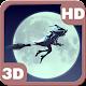 Funny Witch Moon Sky Flight 3D apk