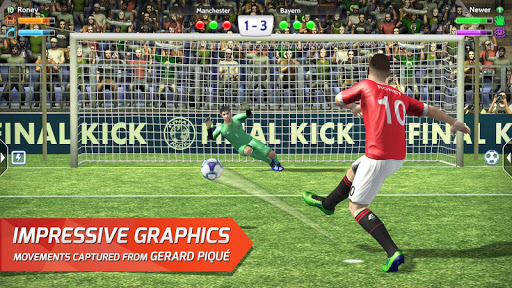 Final kick 2020 Best Online football penalty game - screenshot