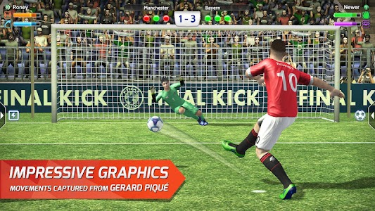 Final kick: Online football v3.7.6 [Mod Money + Vip + Ad Free]