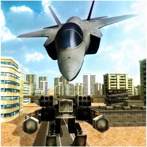 动作のジェット戦闘機ロボット大戦 LOGO-記事Game