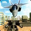 Jet Fighter Robot Wars icon