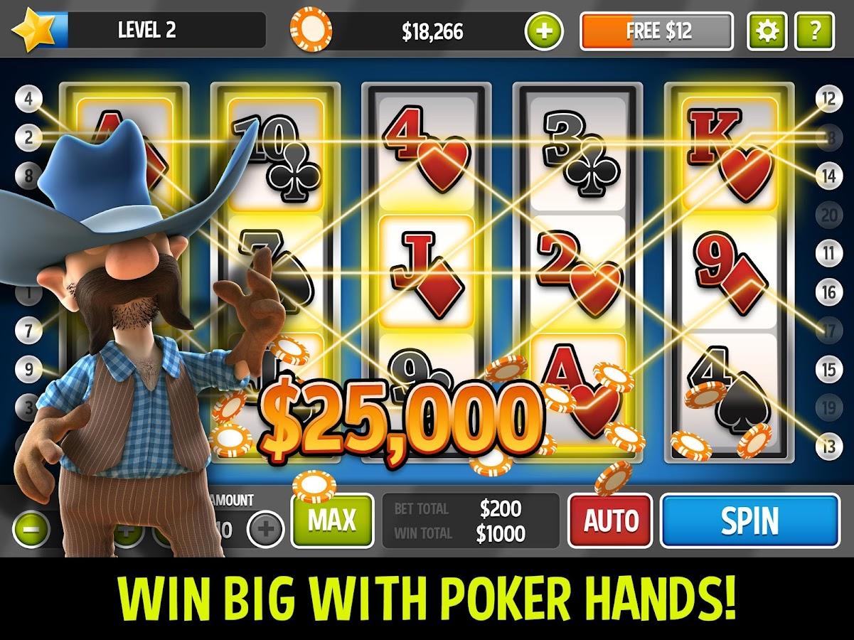 slot machine poker strategy
