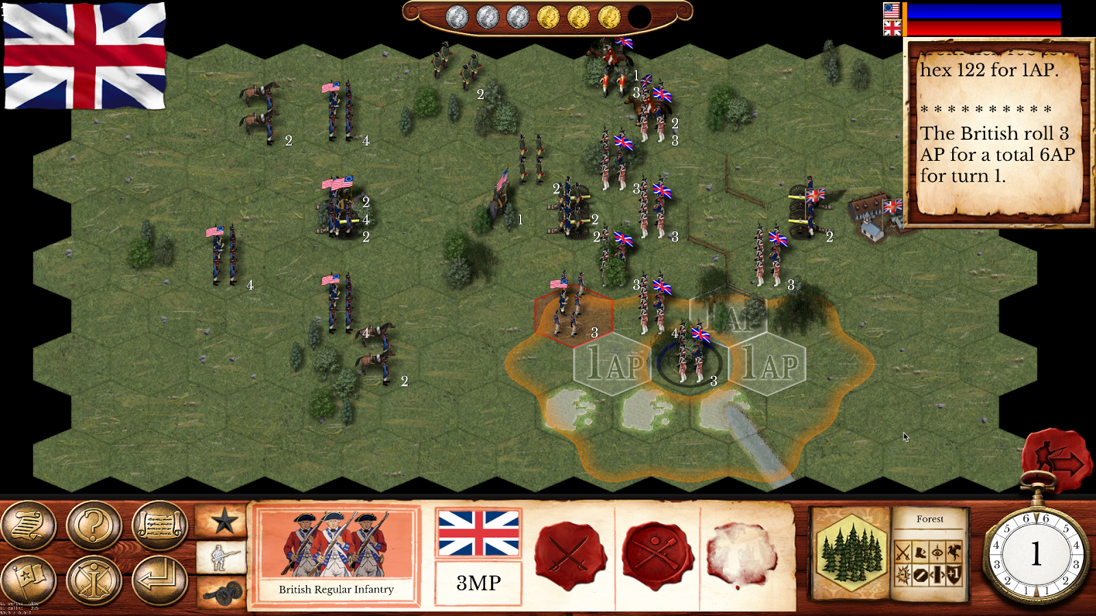 Hold the Line: The American Revolution- screenshot