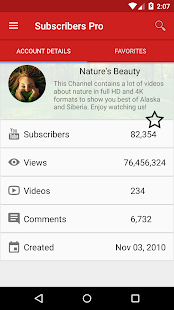 Subscribers Pro - for Youtube- screenshot thumbnail