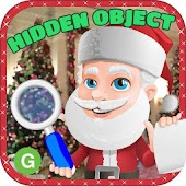 Christmas Hidden Object Santa